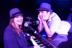 Amy and Randy on piano